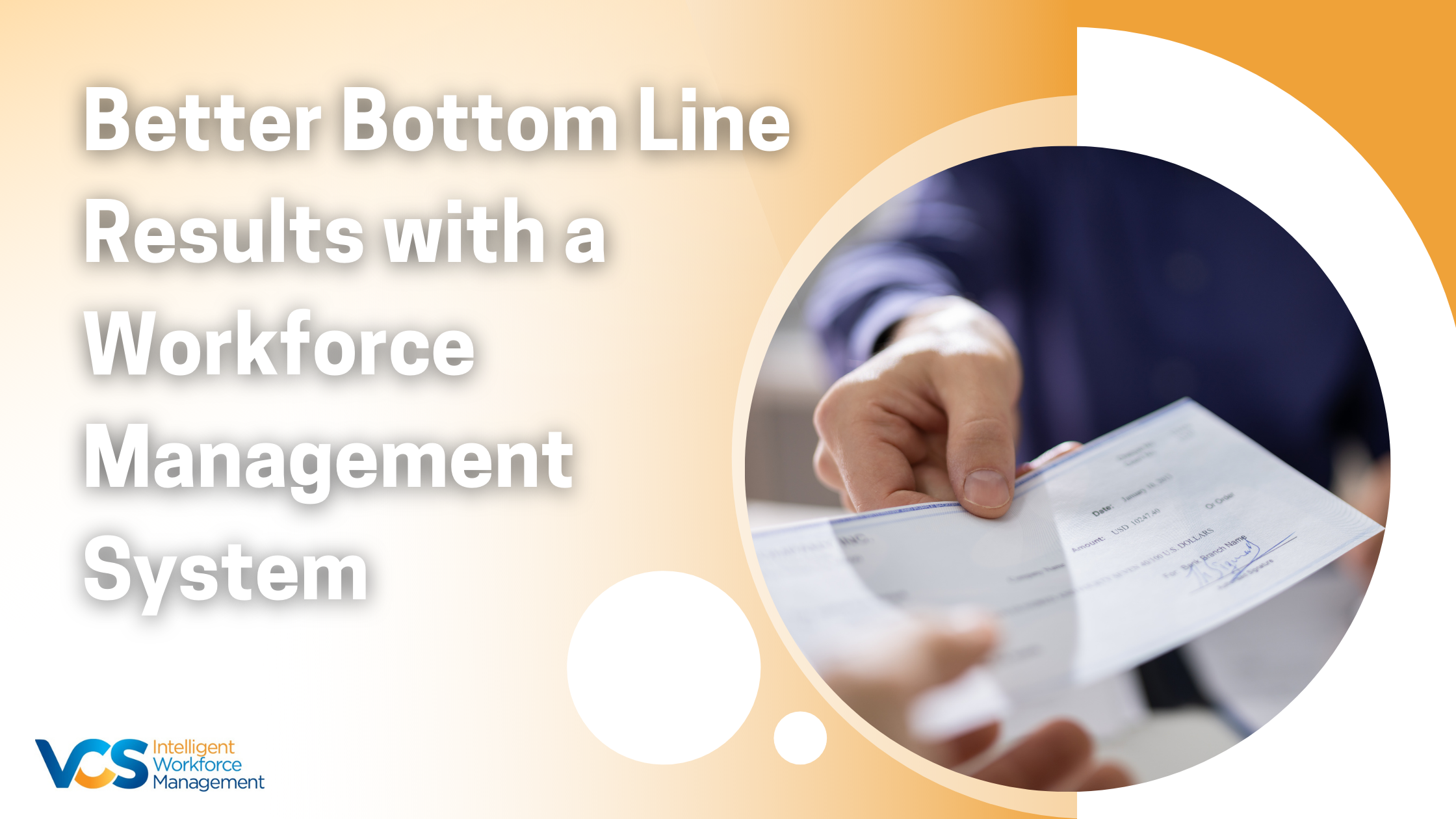 Better Bottom Line Results with a Workforce Management System